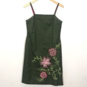 J. Crew | Floral Embroidered Dress